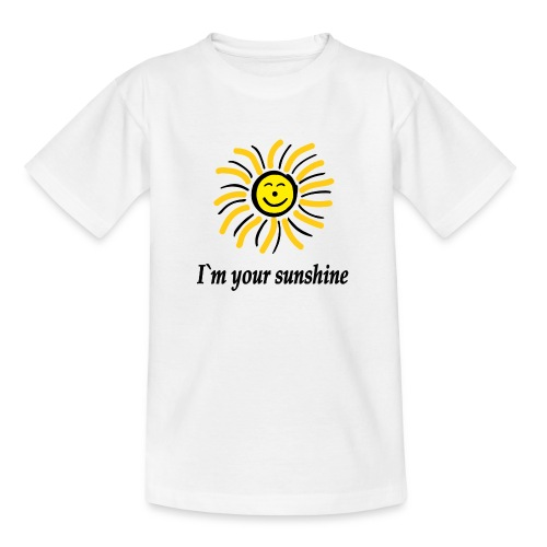 2i m youre sunshine Gelb Top - Teenager T-Shirt