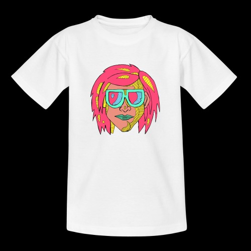 Man pink - Teenage T-Shirt