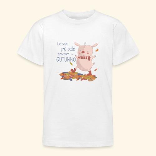 Autumn - Teenage T-Shirt