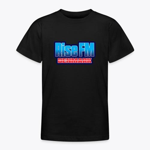 Rise FM Denmark Text Only Logo - Teenage T-Shirt