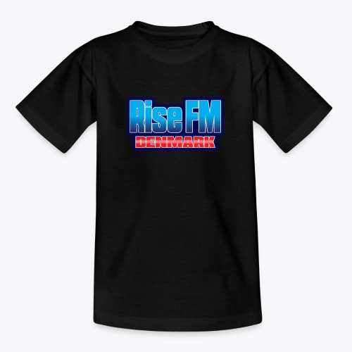Rise FM Denmark Text Only Logo - Teenager-T-shirt
