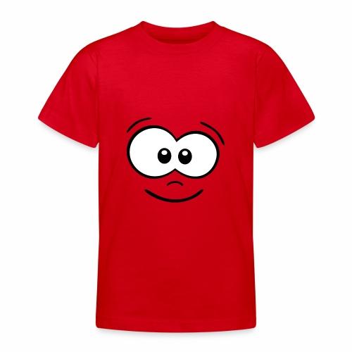 Gesicht fröhlich - Teenager T-Shirt