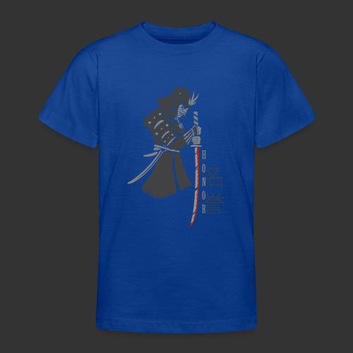 Samurai Digital Print - Teenage T-Shirt