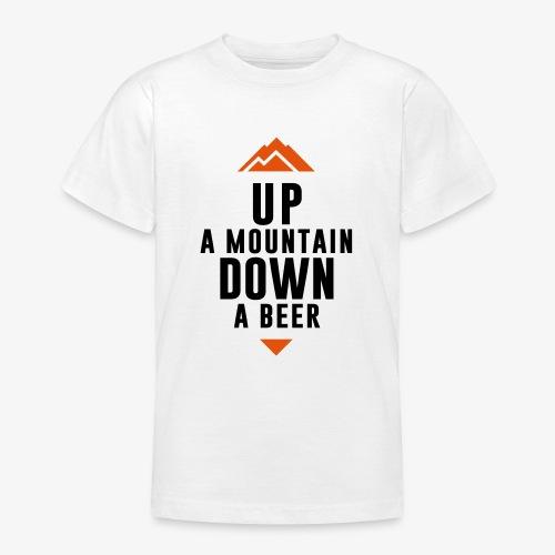 UP Mountain Down Beer - T-shirt Ado