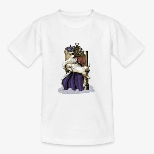 Queen Corgi - Teenage T-Shirt