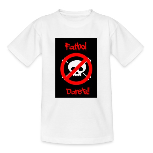 Fatboi Dares's logo - Teenage T-Shirt