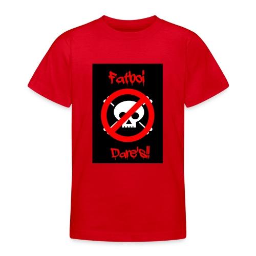Fatboi Dares's logo - Teenage T-Shirt