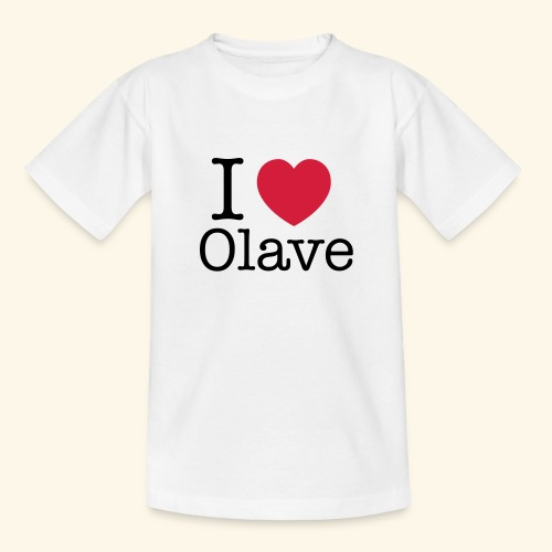 I Olave - Teenager T-Shirt
