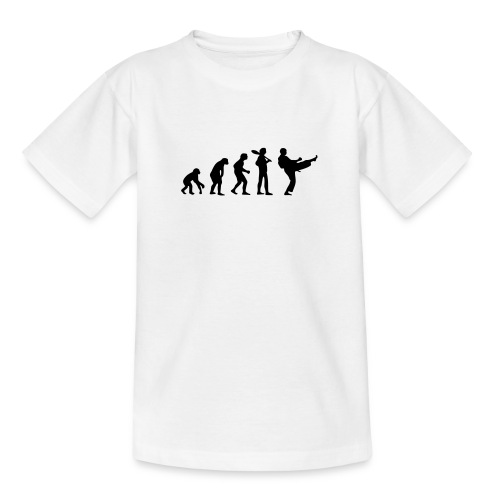 Karate Evolution - Teenager T-Shirt