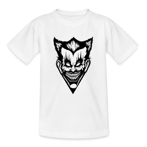 Horror Face - Teenager T-Shirt