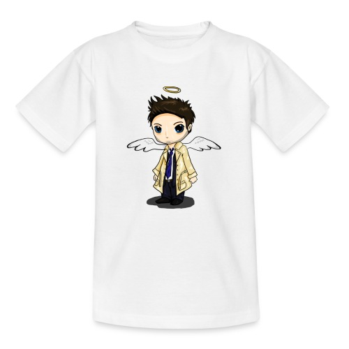 Team Castiel (dark) - Teenage T-Shirt