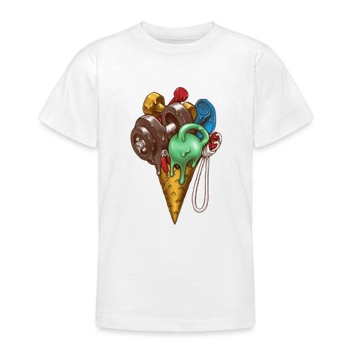 Ice Cream Workout - Teenage T-Shirt