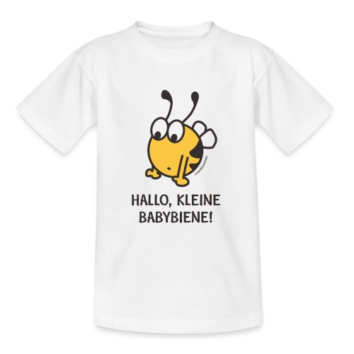 Hallo, kleine Babybiene! - Teenager T-Shirt