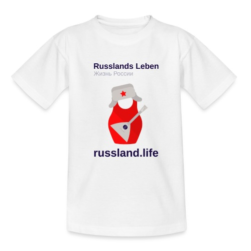 russland.LIFE Edition - Teenage T-Shirt