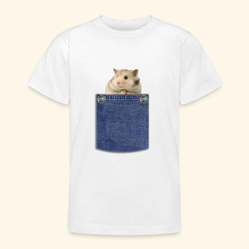 hamster in the poket - Maglietta per ragazzi