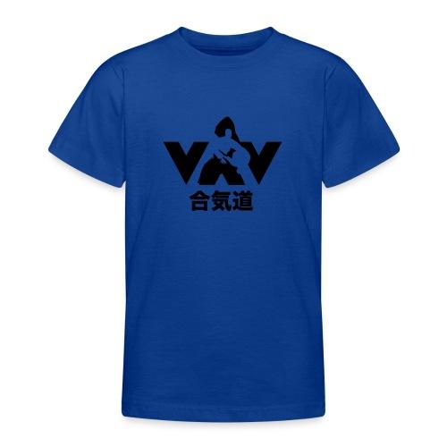 aikido zwart - Teenager T-shirt