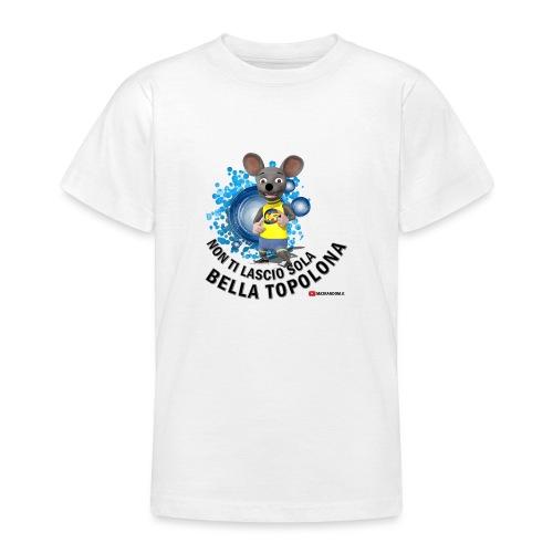 Bella Topolona testo Nero - Maglietta per ragazzi