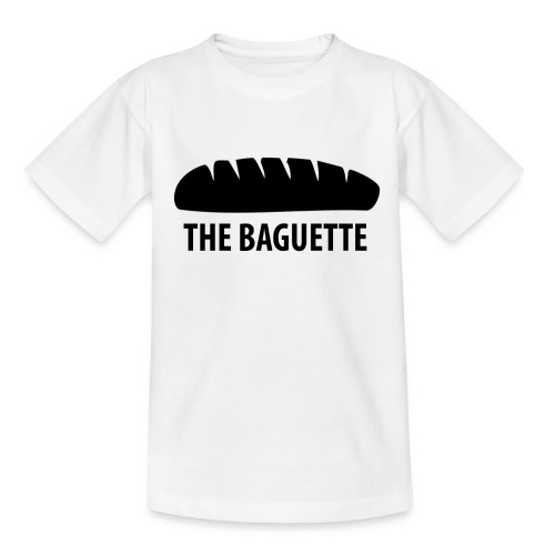 baguette tee NEW png - Teenage T-Shirt