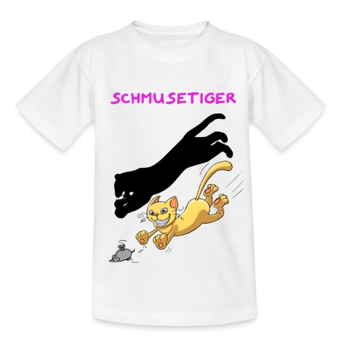 Schmusetiger - Teenager T-Shirt