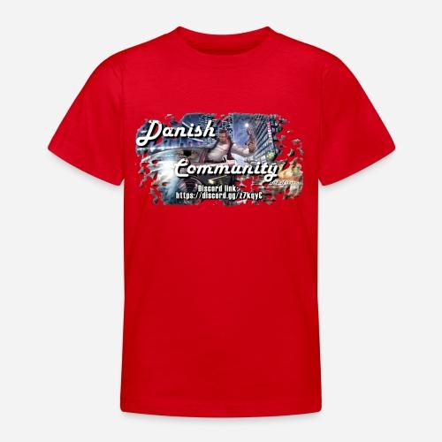 Dansih community - fivem2 - Teenager-T-shirt