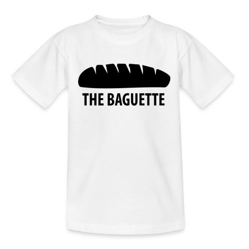 baguette tee NEW png - Teenage T-Shirt