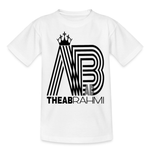 THEABRAHMI BLACK - T-shirt Ado
