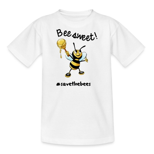 Bees7 - Bees sweet | save the bees - Teenage T-Shirt