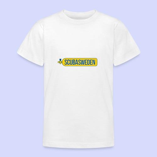 scubasweden logo - T-shirt tonåring