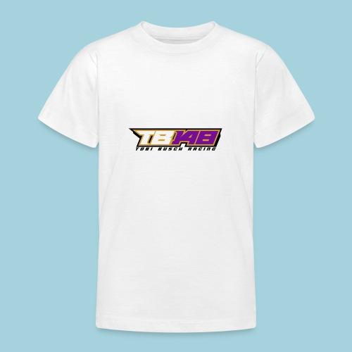 Tobi Logo schwarz - Teenager T-Shirt