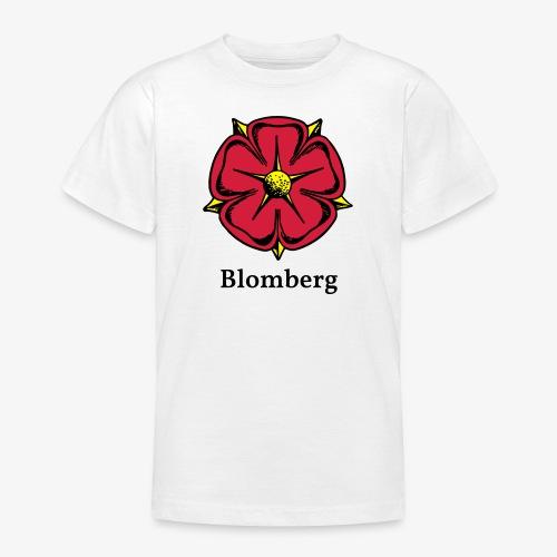 Lippische Rose mit Unterschrift Blomberg - Teenager T-Shirt