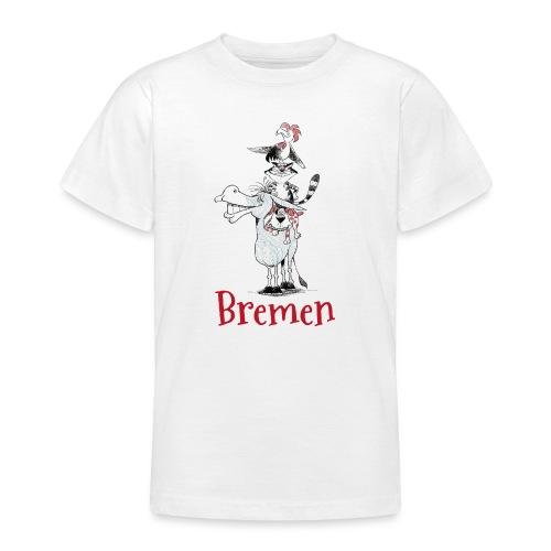 Bremer Stadtmusikanten - Teenager T-Shirt