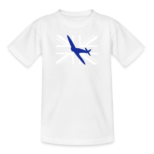 ukflagsmlWhite - Teenage T-Shirt