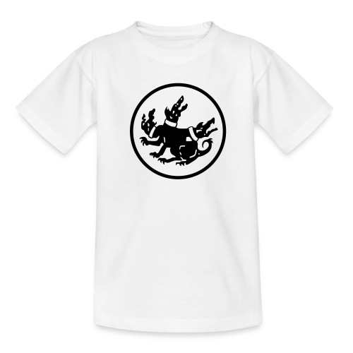cerberus logo rund - Teenager T-Shirt