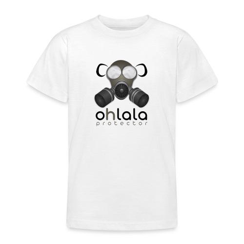 OHLALA PROTECTOR BLK - Teenager T-Shirt