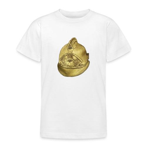 Casque pompier - T-shirt Ado