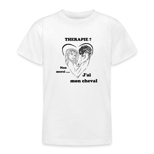 cheval thérapie FC - T-shirt Ado