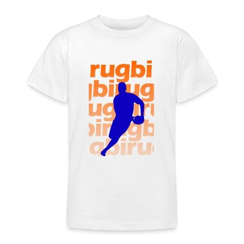 Silueta rugbi home - Camiseta adolescente