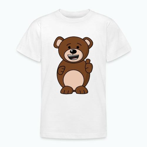 Bruno Bear Happy - Appelsin - T-shirt tonåring