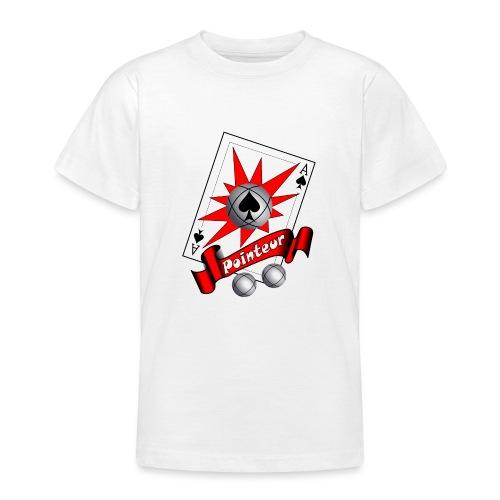 t shirt petanque as des pointeurs boules - T-shirt Ado