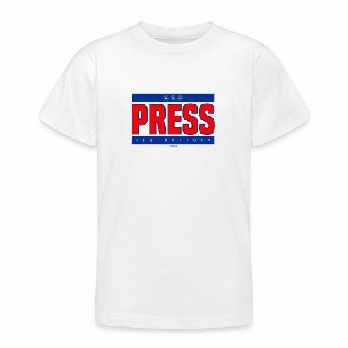 Press the buttons - Teenager T-shirt