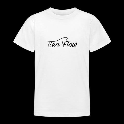Sea Flow logo originale grande - Maglietta per ragazzi