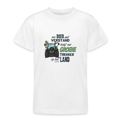0195 Boer verstand F - Teenager T-shirt