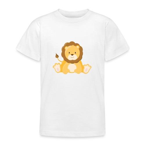 SAFARI Löwe - Teenager T-Shirt