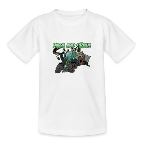 F 718Vario mean and green - Teenager T-shirt