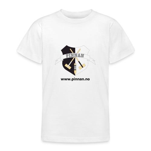 logo adresse - T-skjorte for tenåringer