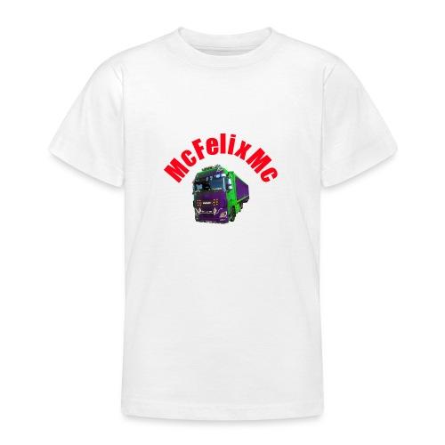 Truck DAF XF mit Namen - Teenager T-Shirt