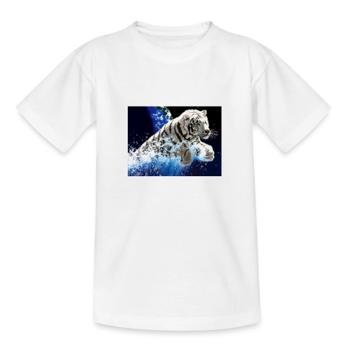 tigern - Teenager-T-shirt