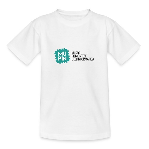 Logo Mupin con scritta - Maglietta per ragazzi