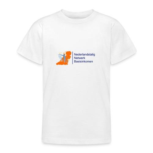 nederlandstalig netwerk basisinkomen - Teenager T-shirt