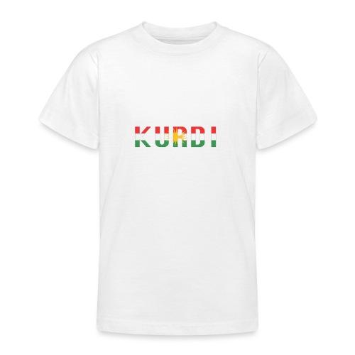 KURDI LOGO - Teenager T-Shirt
